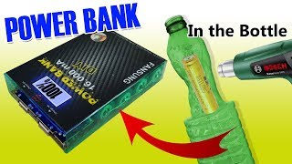 AMAZING Power Bank fai da te con una bottiglia? - Power Bank diy in the bottle