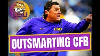 LSU Football: How Ed Orgeron Outsmarted College Football (2019)