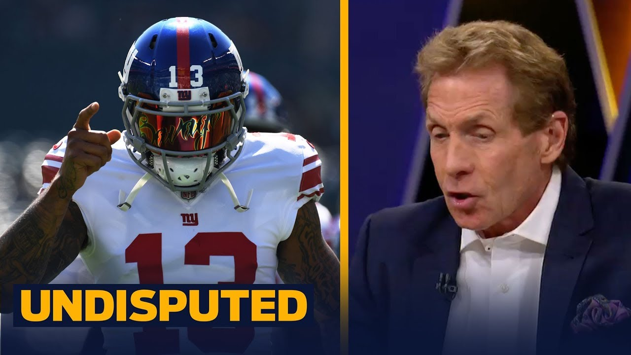 big sale 4da3b e5149 Odell Beckham Jr. pretended to pee like a dog after a TD - Skip and Shannon  react | UNDISPUTED