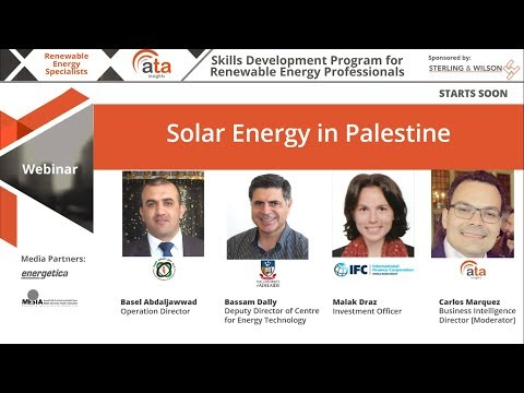 Solar energy in Palestine