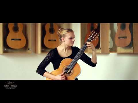 Julia Trintschuk plays L' Hèreu Riera by Miguel Llobet on a 2014/15 Michael Brey