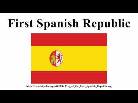First Spanish Republic