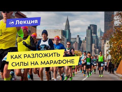 Как разложить силы на марафоне