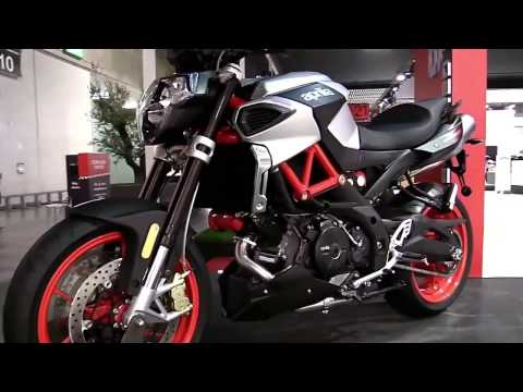 2017 Aprilia Shiver 900 Special Edition Walkaround Review Look in 4K