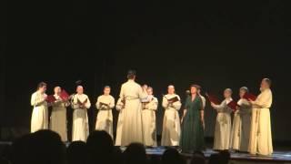 Концерт Патриаршего хора Московского Свято-Данилова монастыря. Часть 1 из 4(Концертная программа