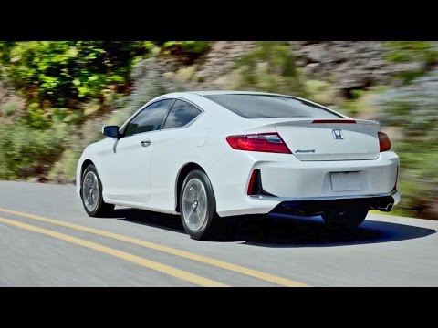 ► NEW 2016 Honda Accord Coupe - Footage
