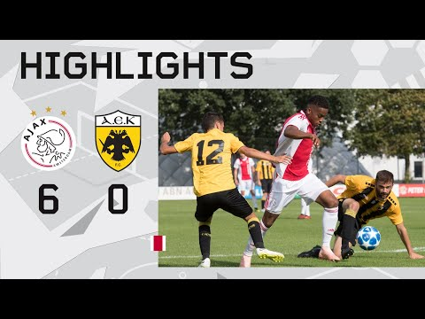 Highlights Ajax O19 - AEK Athene O19 (Youth League)