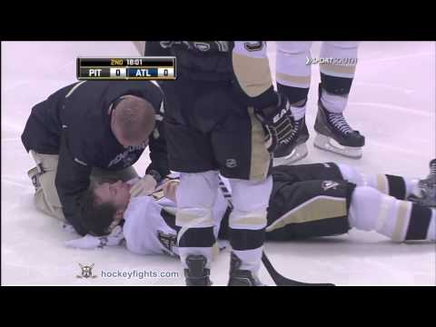 Matt Cooke vs Evander Kane Apr 10, 2010  SportSouth feed