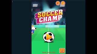 SOCCER CHAMP - Game preview