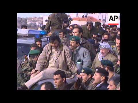 WEST BANK: YASSER ARAFAT TO VISIT FOR 1ST TIME SINCE REDEPLOYMENT