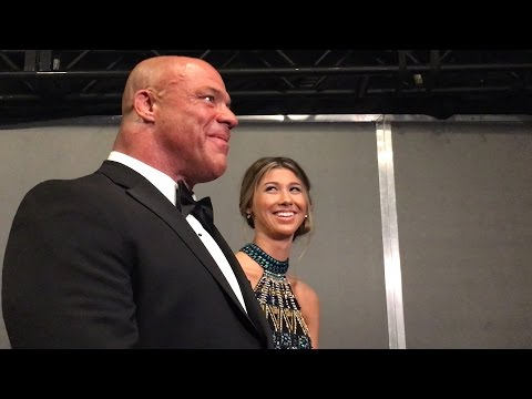 Thumbnail: See Kurt Angle's emotional reaction to John Cena's WWE Hall of Fame induction speech