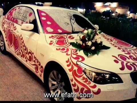 Beautiful Decorated Wedding Cars In Pakistan Youtube