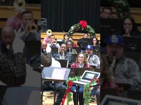 GRACE Yokley Middle School Band Parent performance 12/17/19