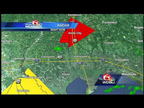 Tuesday afternoon Severe Weather Update
