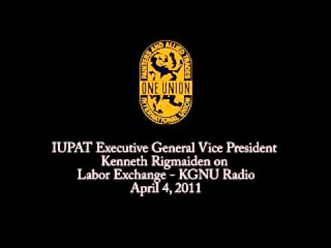 IUPAT Executive General Vice President on Labor Exchange - K
