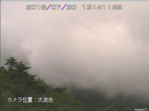 20/7/2018 WITA - Mt Shinmoedake 新燃岳 TimeLapse