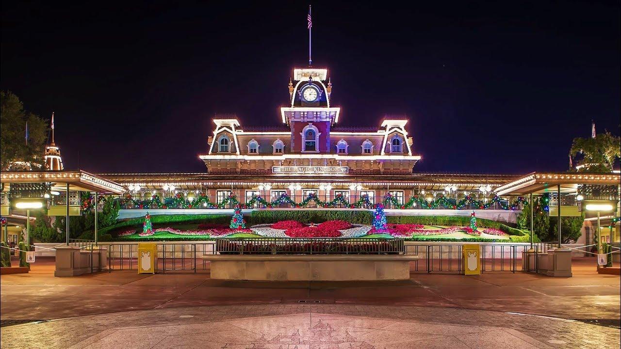 Magic kingdom disney world entrance webcam