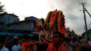 Palanquin utsav to Gokarn & Kaivalya Mathadish