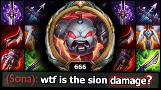 This Sion does DAMAGE | League of Tilt