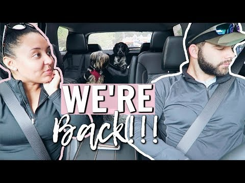WE'RE BACK TOGETHER AGAIN!! | OUR LITTLE FAMILY DAY IN THE LIFE 2018 | Page Danielle