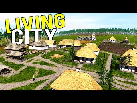 Building a LIVING, BREATHING 18th CENTURY CITY! New Awesome City Builder - Ostriv Alpha Gameplay