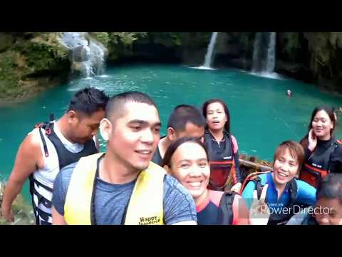 Ecolab (Phils.) Finance Side Trip: Kawasan Falls Cebu | January 08-10 2017