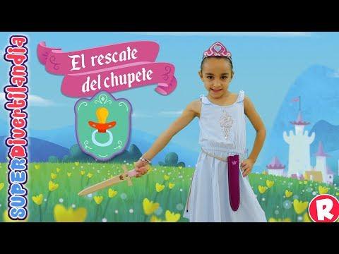 El Rescate del Chupete. Andrea es una Princesa Valiente