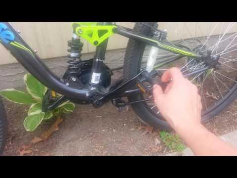Mongoose Ledge 3.5, Mongoose Ledge 2.1 and Nishiki pueblo mountain bike