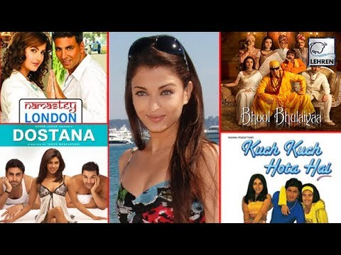 Top 7 Blockbuster Movies Rejected By Aishwarya Rai Bachchan