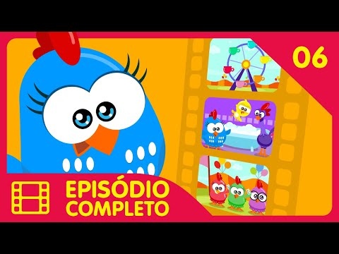 Galinha Pintadinha Mini - Episódio 06 Completo - 12 min