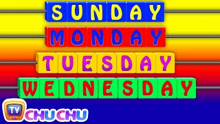 Days of the Week Song - 7 Days of the Week – Nursery Rhymes & Children's Songs by ChuChu TV thumbnail