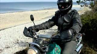 Сарема Эстония мото поездка приключения Moto trip Sarema