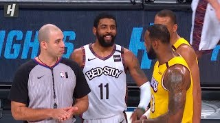 Kyrie Irving TAUNTS LeBron James - Lakers vs Nets | January 23, 2020
