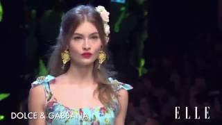 Dolce & Gabbana Primavera Verano 2017 Milán