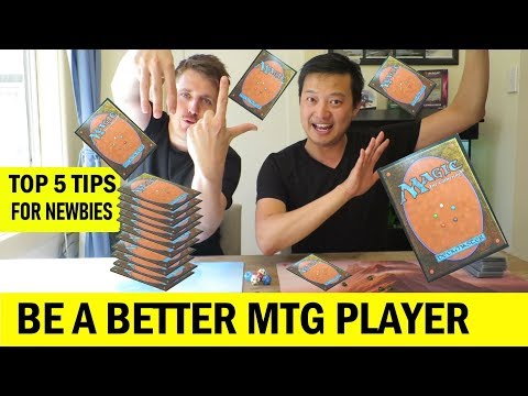 How To Be A Better Magic: The Gathering (MTG) Player For Beginners | Top 5 Tips