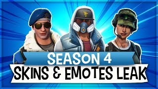 """NEW"" SKINS UND EMOTES LEAK 