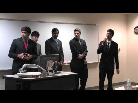 1st Place Winners - Team Think Tank, Wicked Case Competition 2013