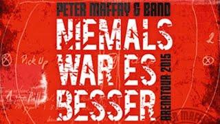 """Peter Maffay - Intro """"Niemals War Es Besser Tour"""" (Live 2015)"""