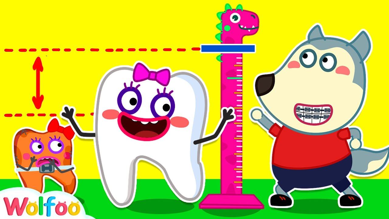 Wolfoo Wants A Tooth Be Taller - Funny Stories About Nice Teeth | Wolfoo Family Kids Cartoon