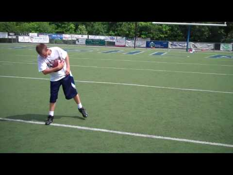 Bubby Brister (34) Quarterback Training