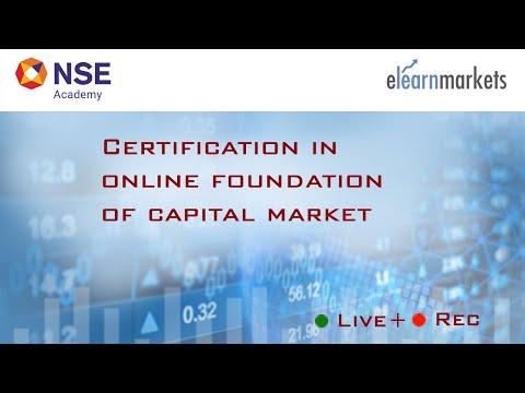 NSE Academy Certified Foundation of Capital Markets
