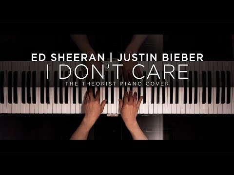 Ed Sheeran & Justin Bieber - I Don&39;t Care  The Theorist Piano Cover