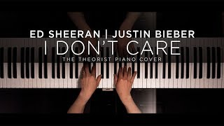 Ed Sheeran & Justin Bieber - I Don't Care | The Theorist Piano Cover