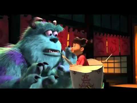 Dididi [Hoạt hình] Trailer Công ty quái vật 3D Monsters, Inc 3D