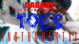 DaBaby FT. Lil Baby & Moneybagg Yo - Toes [INSTRUMENTAL] | ReProd. by IZM
