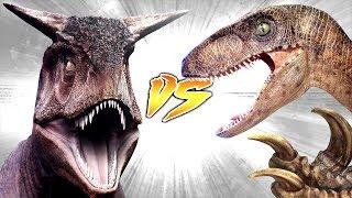 CARNOTAURUS VS UTAHRAPTOR [Who Would Win?]