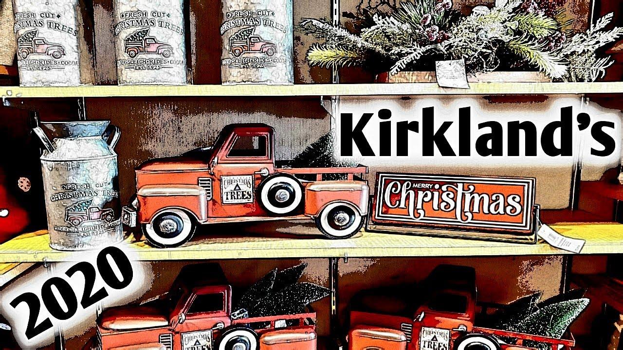 Kirkland S Christmas Decor 2020 Shop With Me New 2020 Christmas Decorations Becky Buford Youtube