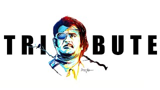Tribute To Super Star | Icon Of Indian Cinema Super Star & The Style King | SHANMUGADOSS EDITZ