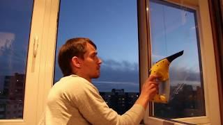 Как вымыть оконное стекло без разводов? Стеклоочиститель Кэрхэр.
