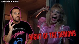 Drumdums Reviews NIGHT OF THE DEMONS (LINNEA QUIGLEY!)